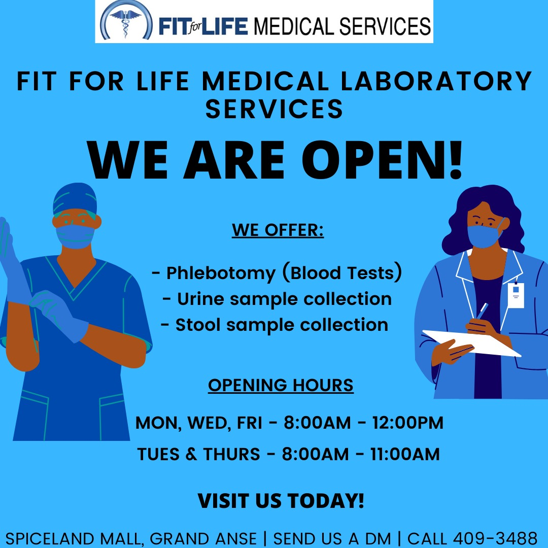 Fit for Life Medical Laboratory Services – 409-3488