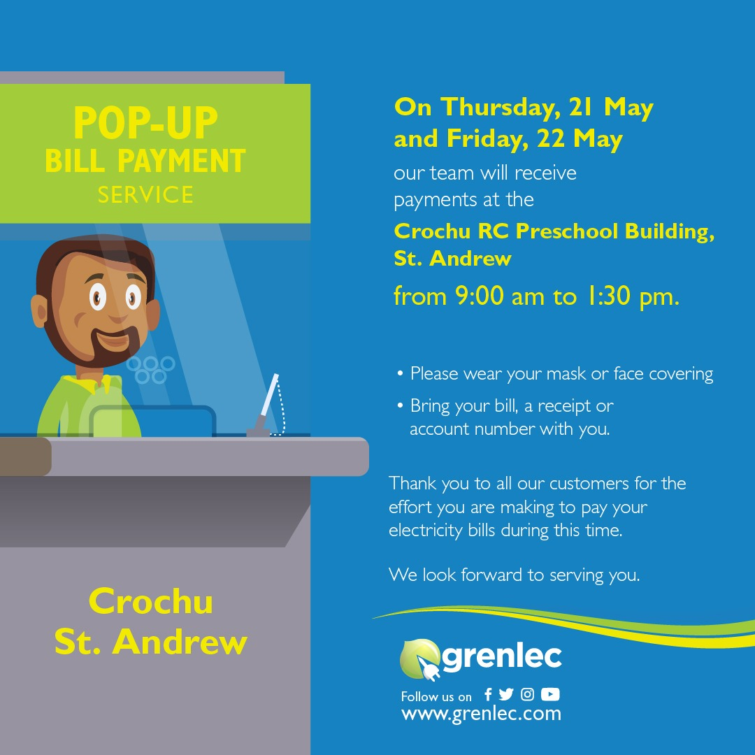 Grenlec Pop-Up Bill Payment Service
